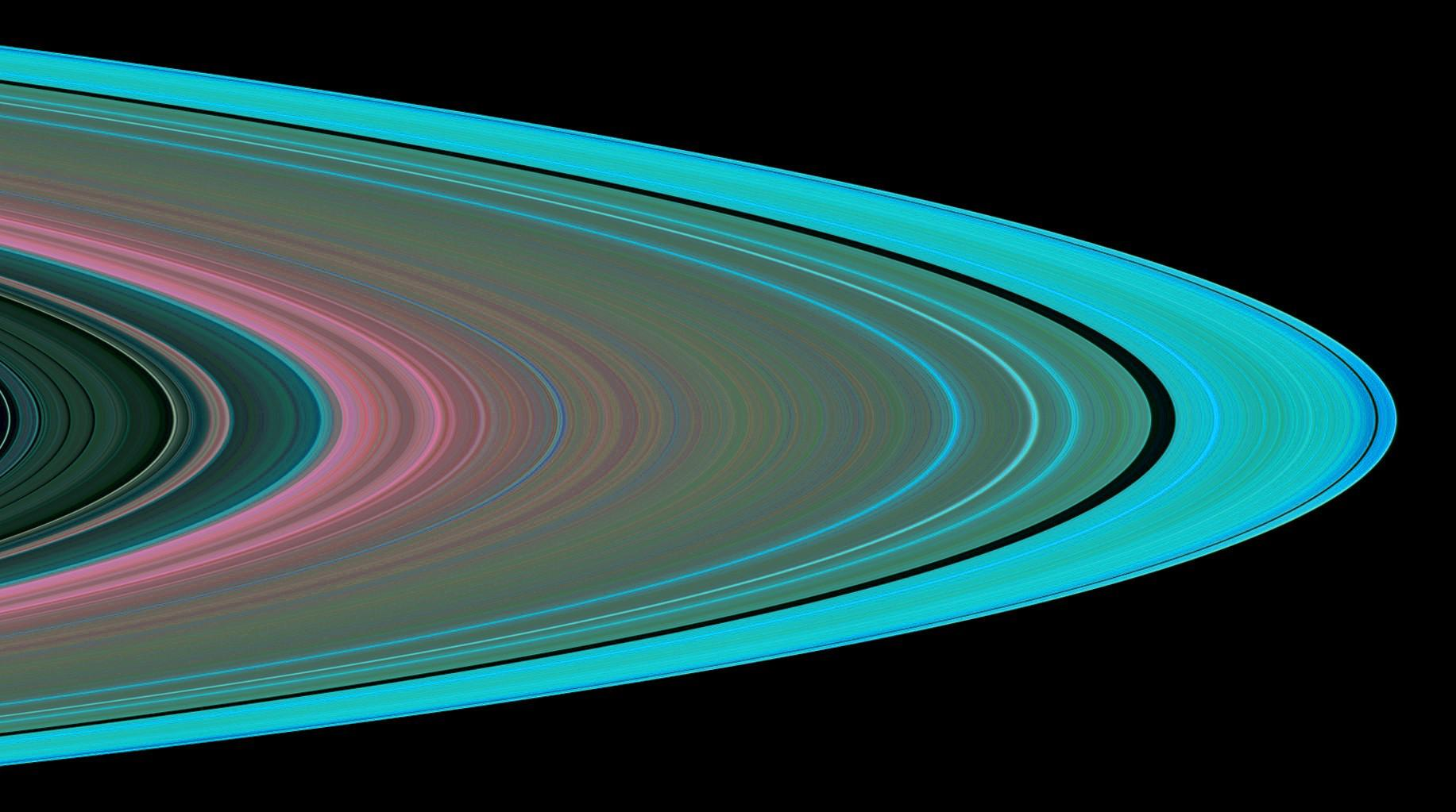 Ringen | Saturnus - Reuzenplaneten.nl